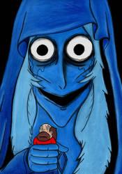 Blue Diamond by charcoalman