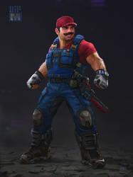 Super Smash Bros: Remixed - Mario by andrewdoma