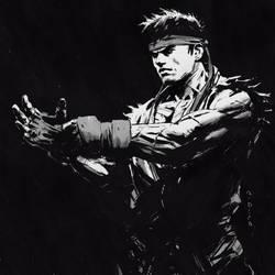 Ryu sketch by andrewdoma