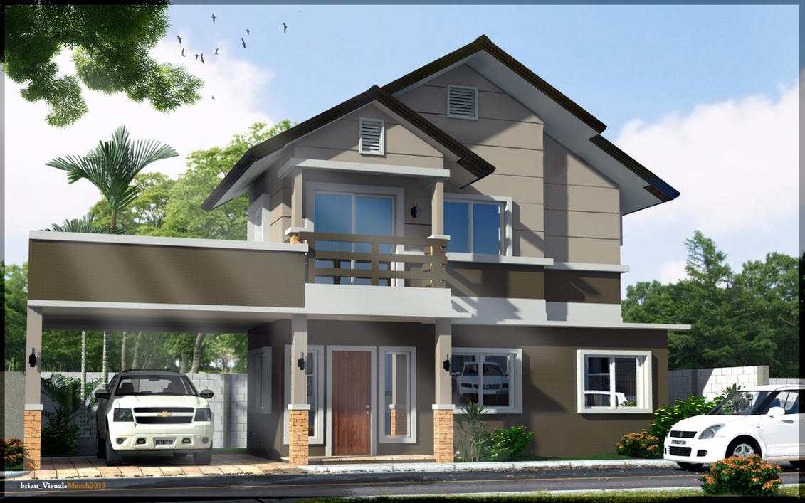 Villa model house picture gallery