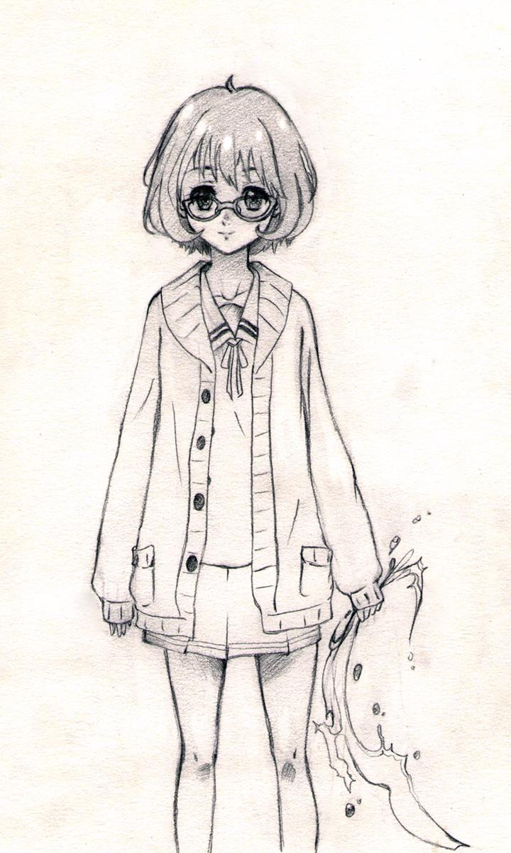 Kuriyama Mirai by FidgetyBudgie