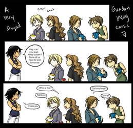 Gundam Wing - a stupid comic by akiwitch