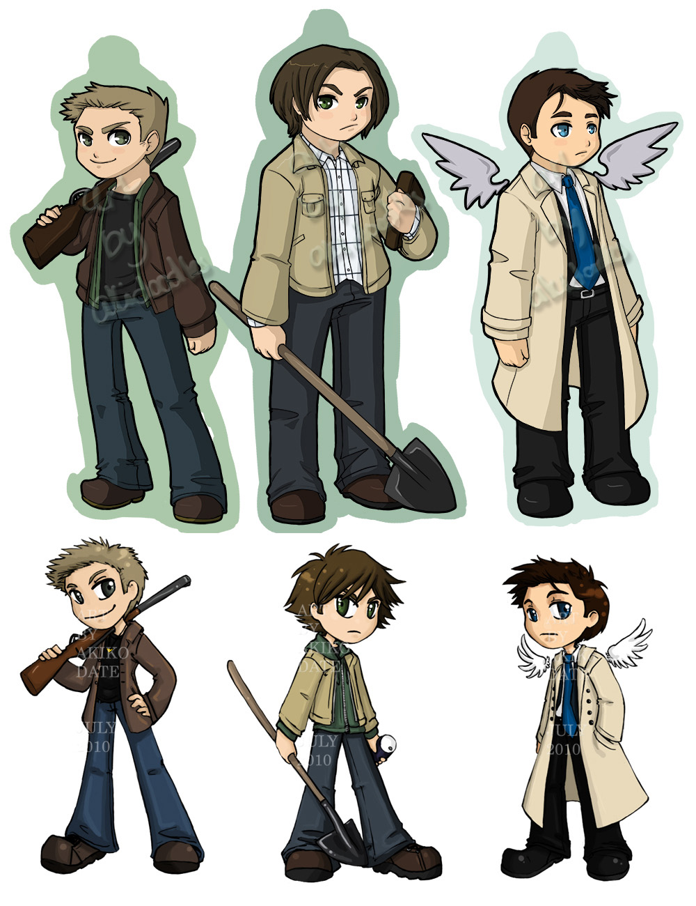 Supernatural - Stickers are more expensive now by akiwitch