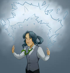 Threadbound - January Illustration