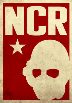 Fallout New Vegas - NCR Poster