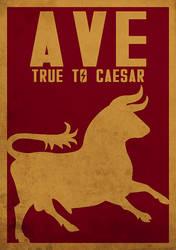 Fallout New Vegas - Legion Poster