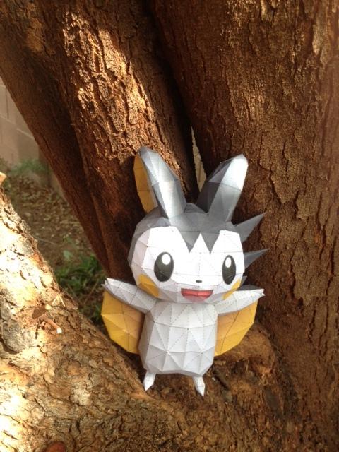 Emolga papercraft by nekonyan3
