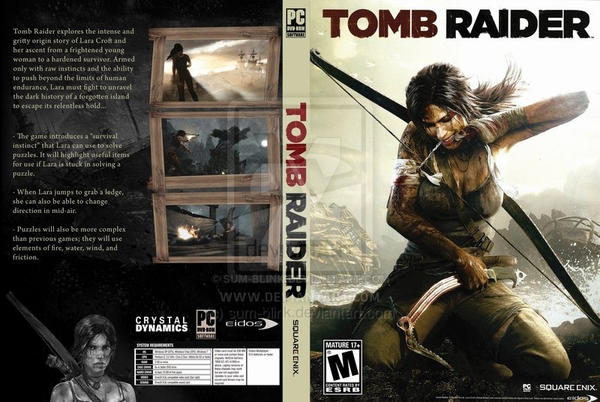Tomb Raider 2013 cover by sum-blink on DeviantArt