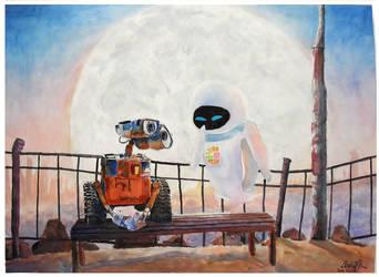 Robot Love Story by kitkatbear246
