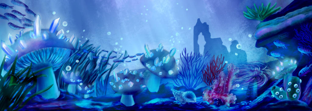 Glare in the ocean by miranda8888