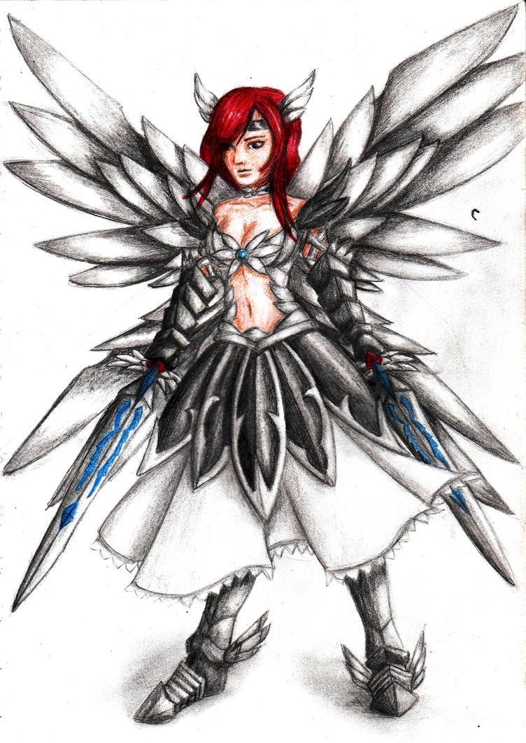 Erza Scarlet - Heaven's Wheel Armor by HannahGoanna on ...