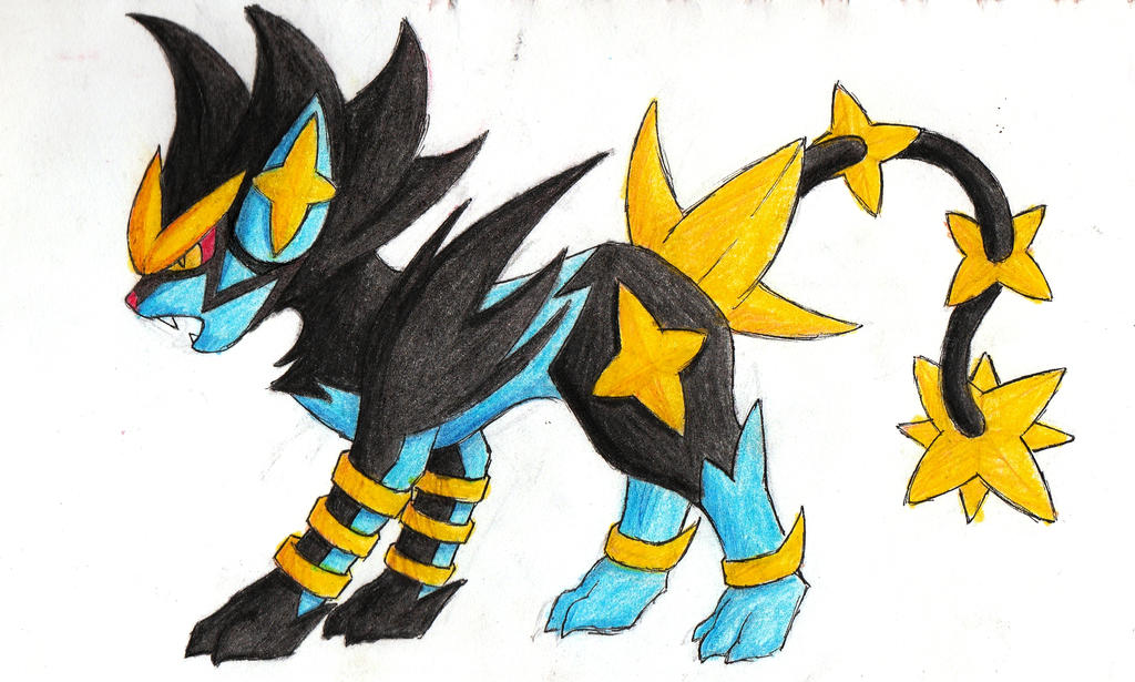 Mega Luxray by HannahGoanna on DeviantArt