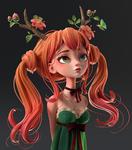Druid Girl |  Polypaint