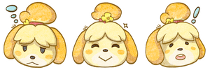 Isabelle Stickers by HTRuiz