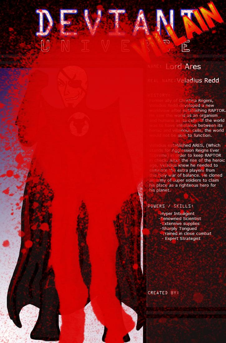 DU- Veladius Redd by 127thlegion