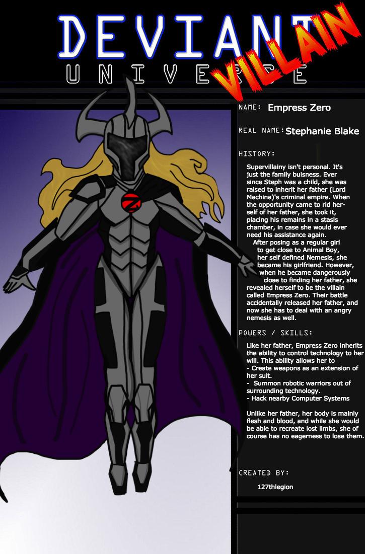 Deviant Universe: Empress Zero by 127thlegion