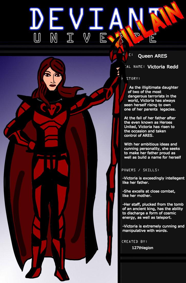 Deviant Universe-Victoria Redd by 127thlegion