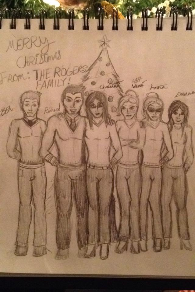A Merry Christmas From the Rogers Family! by 127thlegion