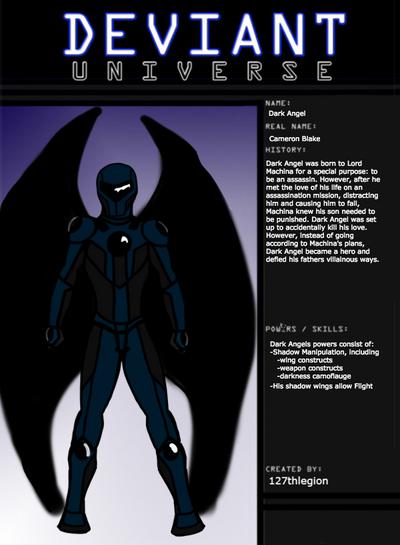 Dark Angel- Deviant Universe by 127thlegion