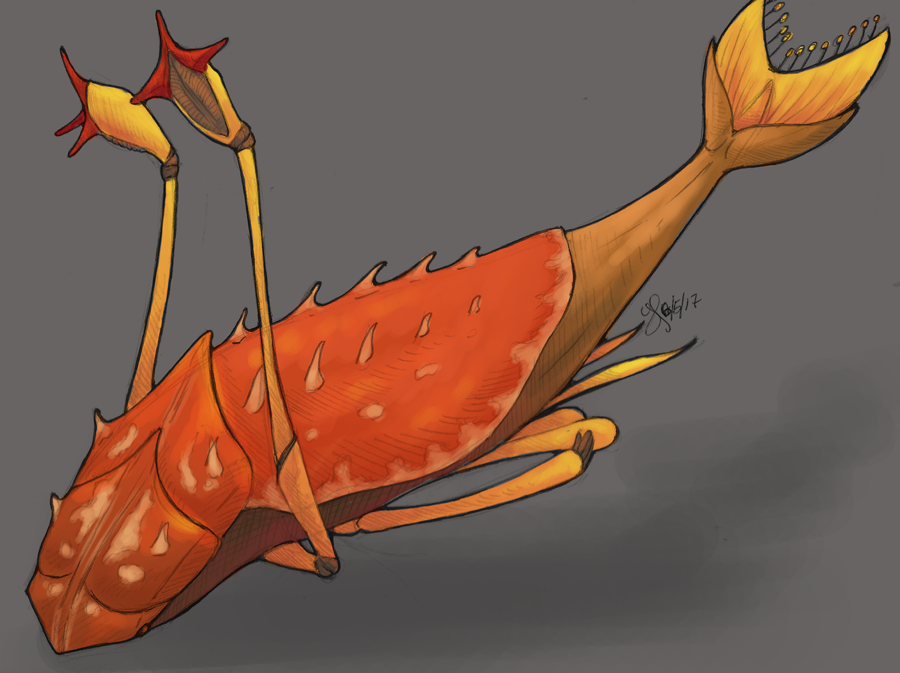 Teledahn Creature by aireona93