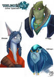 Wildstar Sketches #2 by aireona93