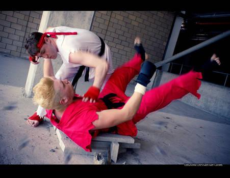Street Fighter VS Tekken   Take Down by Emzone