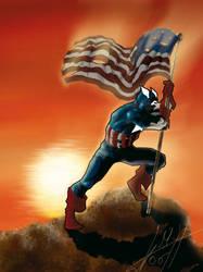 Cap America by SkuLL-Inc
