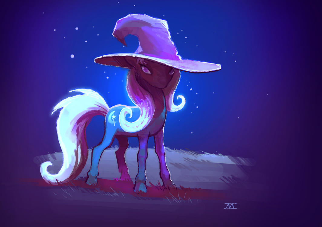 Great and Powerful Pony by cmaggot