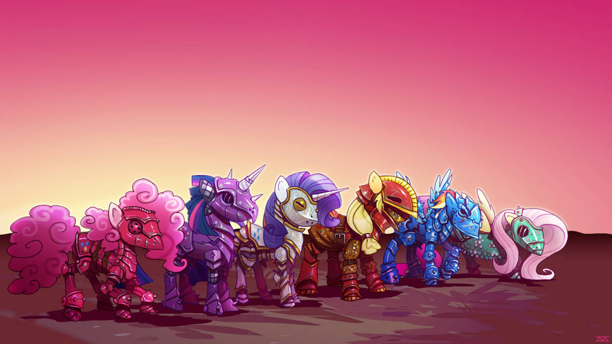 Battle Ponies by cmaggot