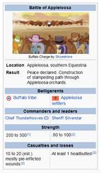 Battle of Appleloosa by cmaggot