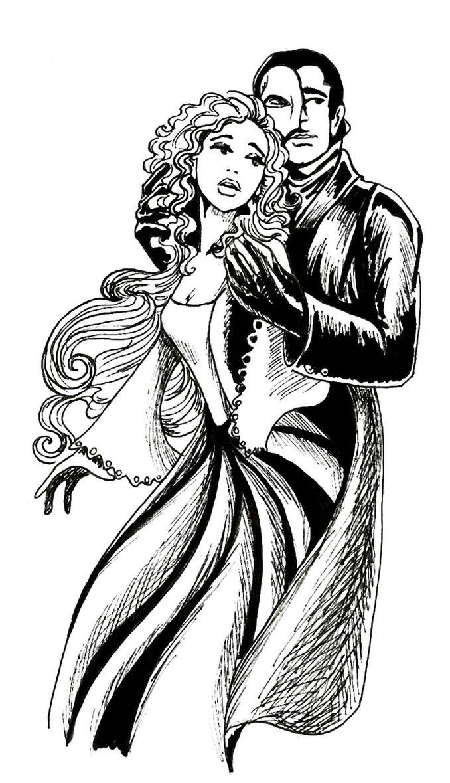 phantom of the opera by maryjet on deviantart