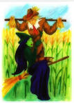 Elphaba and the Scarecrow