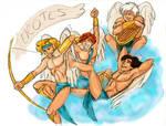 Aphrodite's Boys the Erotes