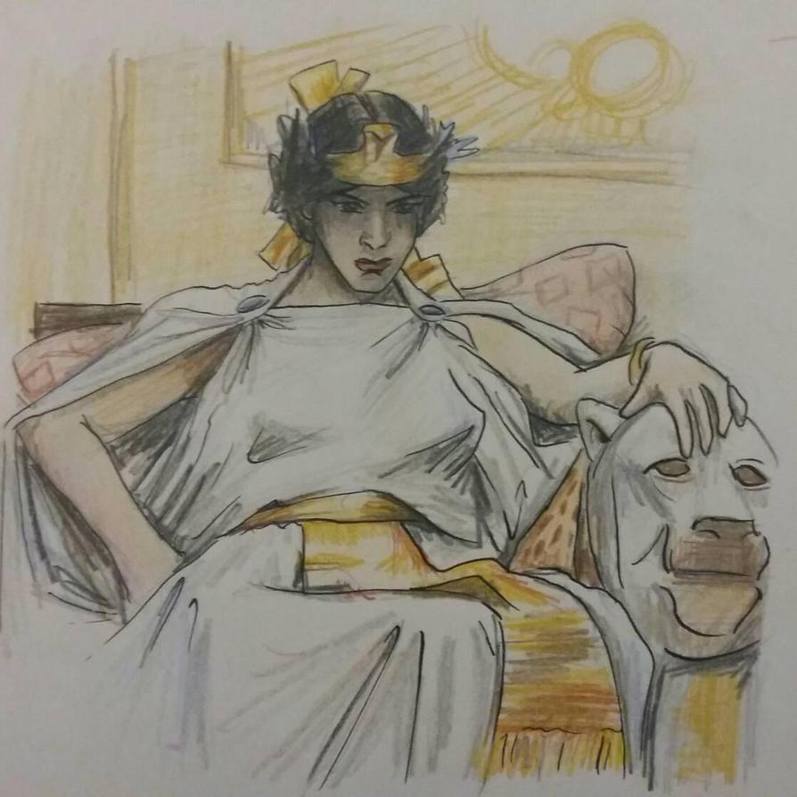 Cleopatra by MaryJet