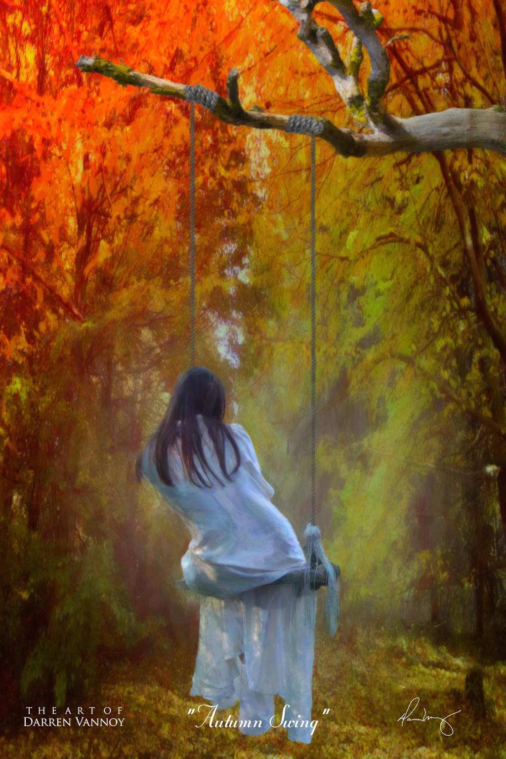 Autumn Swing by theartofdarrenvannoy