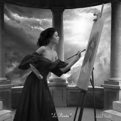 Le Peintre by theartofdarrenvannoy