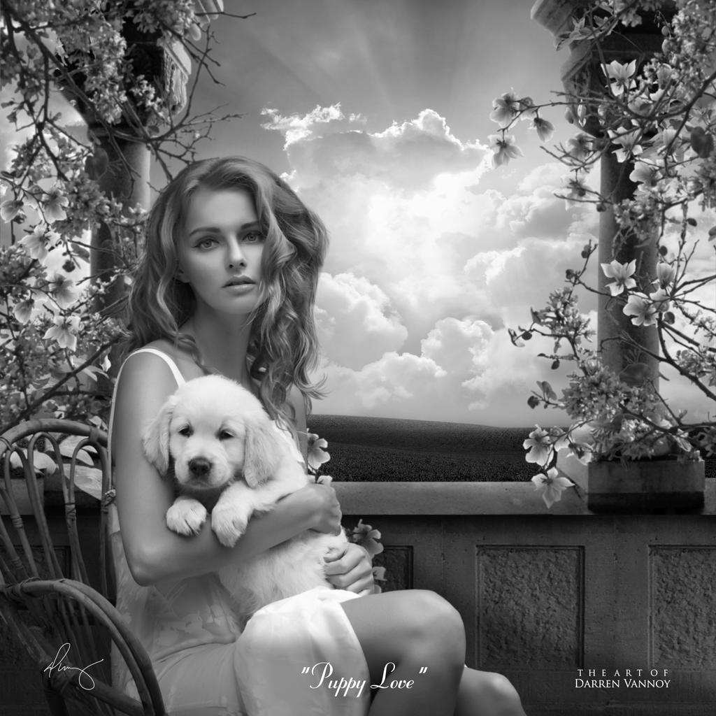 Puppy Love v2 by theartofdarrenvannoy