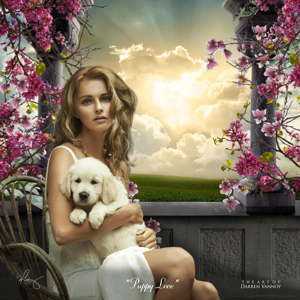 Puppy Love by theartofdarrenvannoy