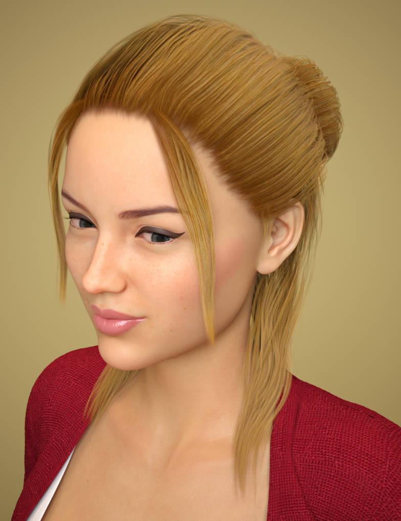 Tasha Hair for Genesis 8 Female(s) by Toyen-Art on DeviantArt