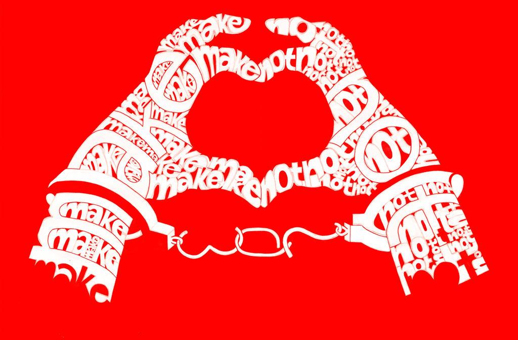 Make Love Not War by AdamVertue