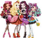 Ever After High Group Cutout