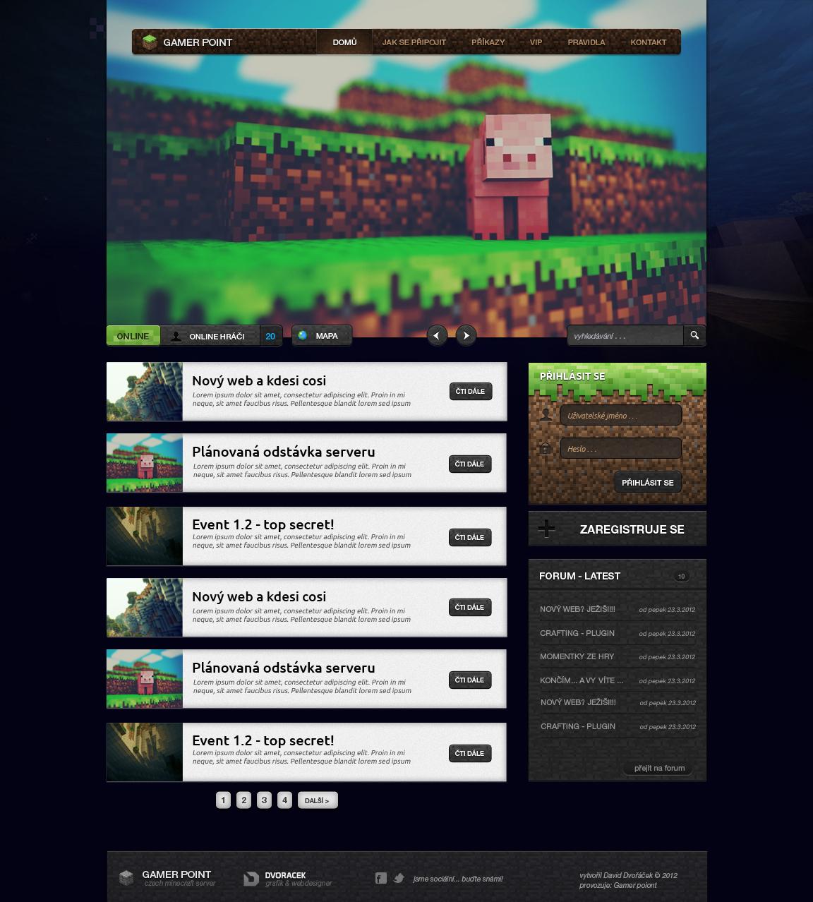 Minecraft - Gamerpoint by igrenic on DeviantArt