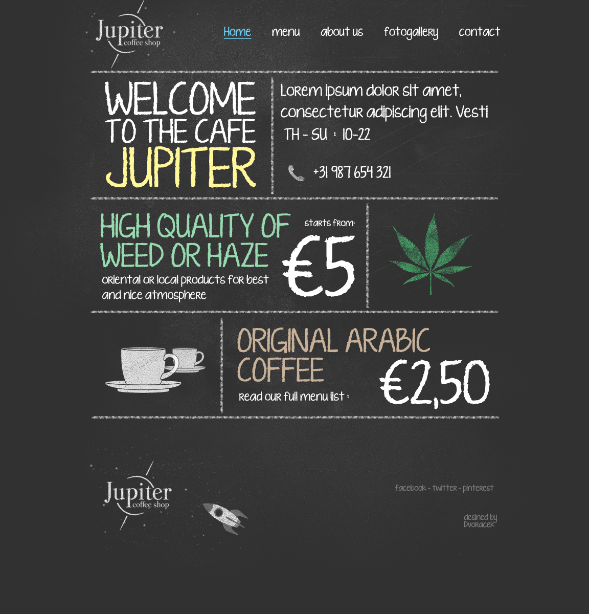 Jupiter coffee shop by igrenic