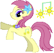 My Little Pony OC: Summer Song by Cute-Wolfie