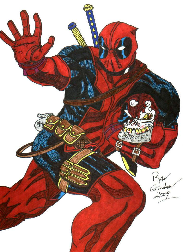 Deadpool by ryeguyjedi