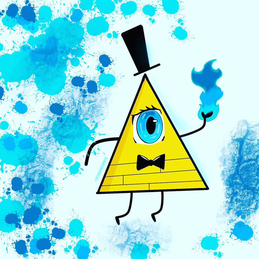 Anime bill cipher by JustUsWaffles