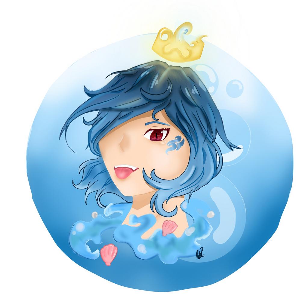 Mermaid? by JustUsWaffles