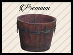 Wooden bucket png