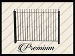 Metal fence png