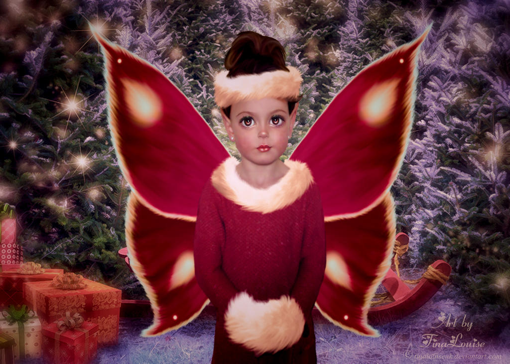 Little Christmas Fae by TinaLouiseUk